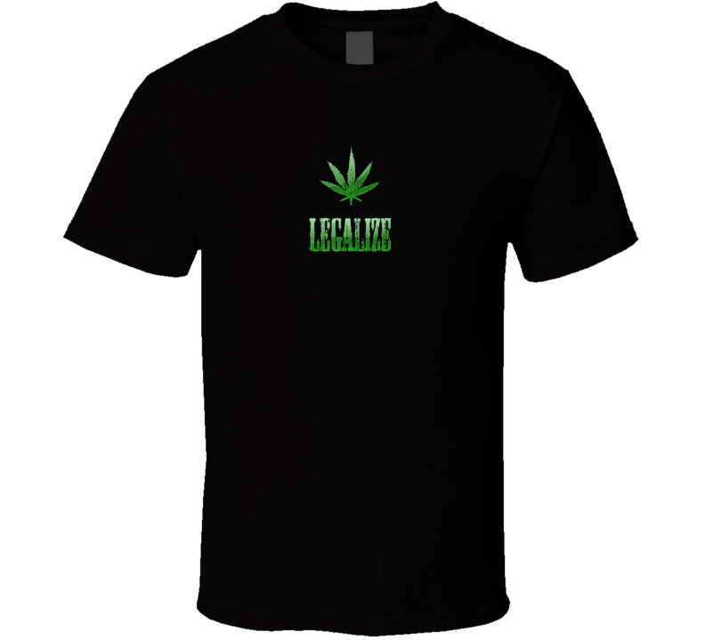 Legalize Marijuana Cool Free Da Weed Funny Worn Look T Shirt