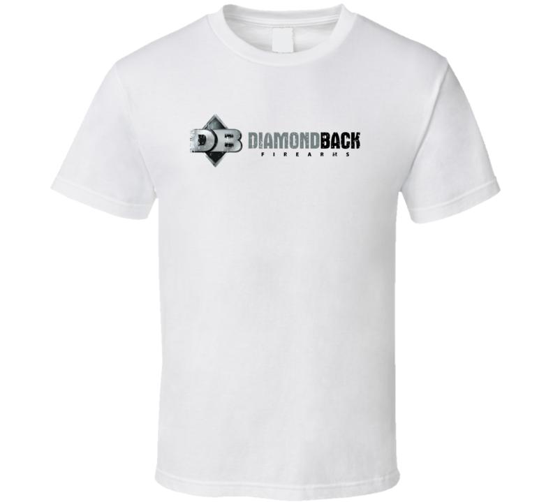 Diamondback Firearm Hunter Rifle Fathers Day Worn Look Gun T Shirt