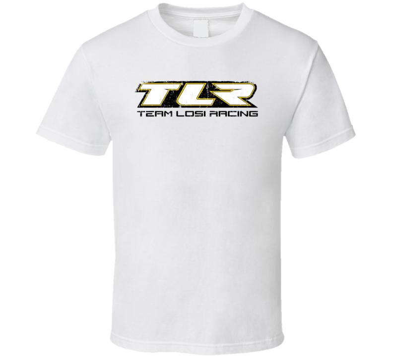 Team Losi Racing RC Aircraft Cool Geek Worn Look T Shirt