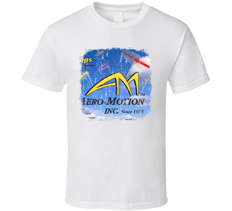 Aero-Motion RC Aircraft Cool Geek Worn Look T Shirt