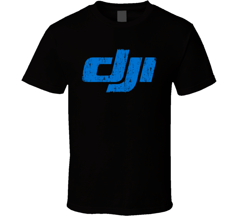 DJI RC Aircraft Cool Geek Worn Look T Shirt
