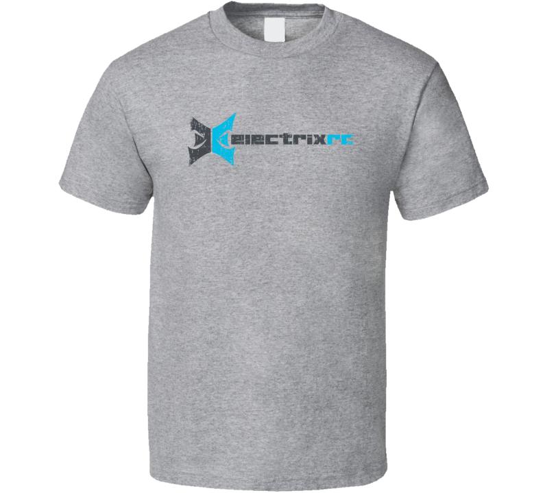 ECX RC Aircraft Cool Geek Worn Look T Shirt