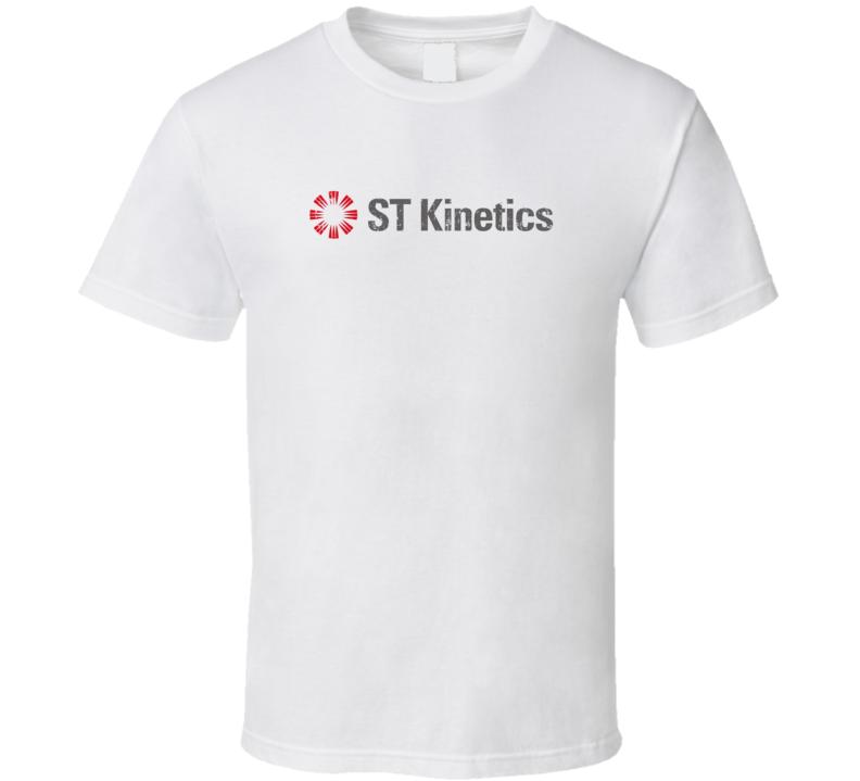 ST Kinetics Dump Truck Construction Worker Fathers Day Worn Look T Shirt