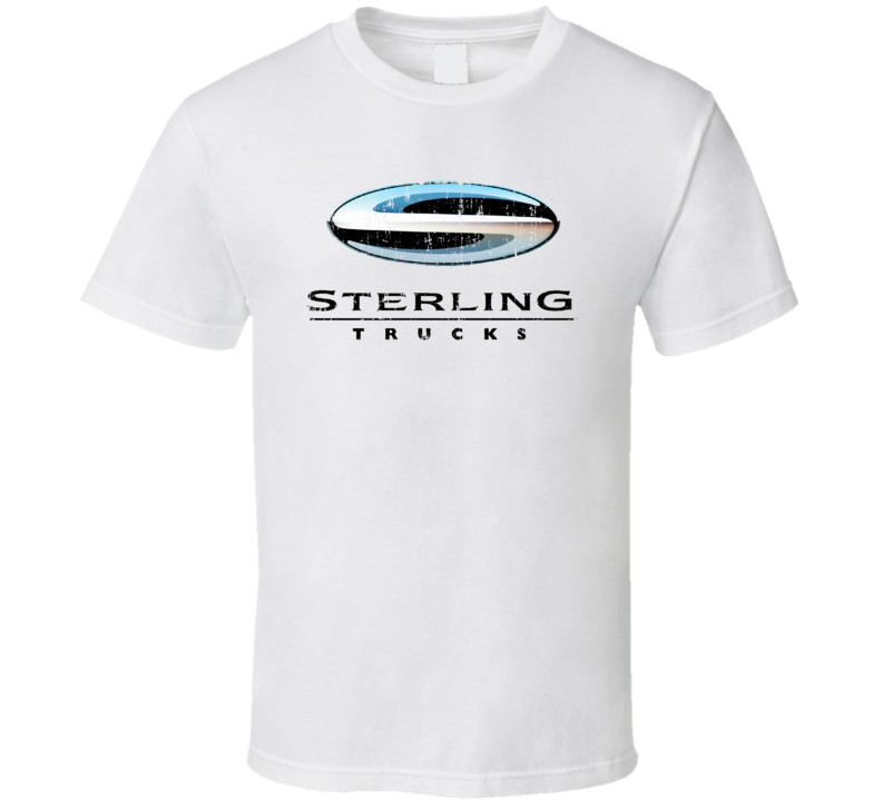 Sterling Dump Truck Construction Worker Fathers Day Worn Look T Shirt