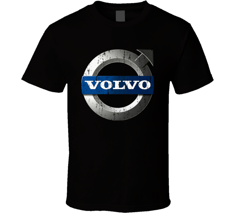 Volvo Dump Truck Construction Worker Fathers Day Worn Look T Shirt