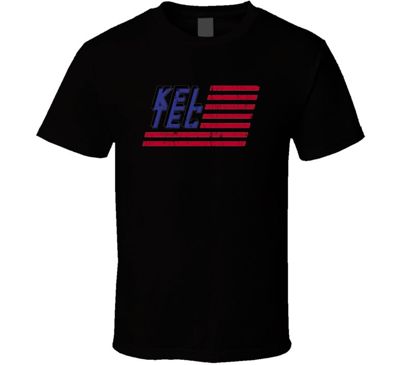Kel Tec Firearm Hunter Rifle Fathers Day Worn Look Cool Gun T Shirt