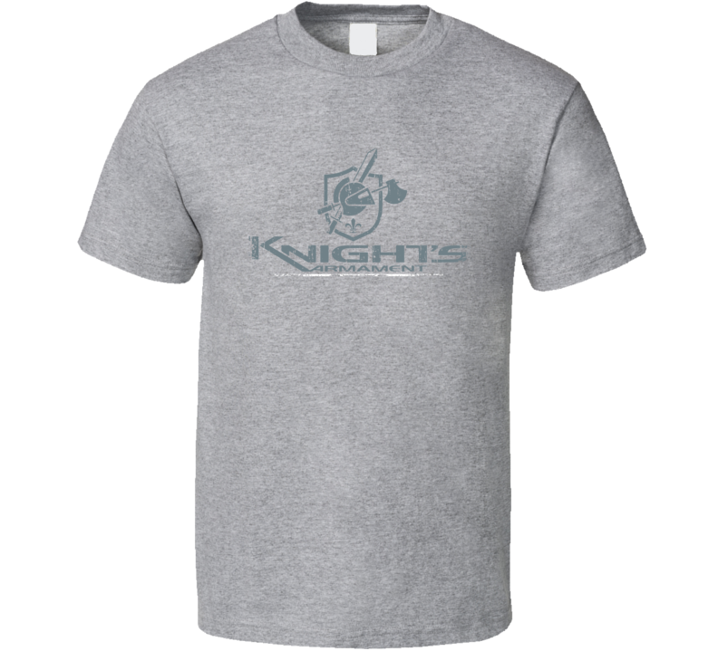 Knight's Armament Firearm Hunter Fathers Day Worn Look Gun T Shirt