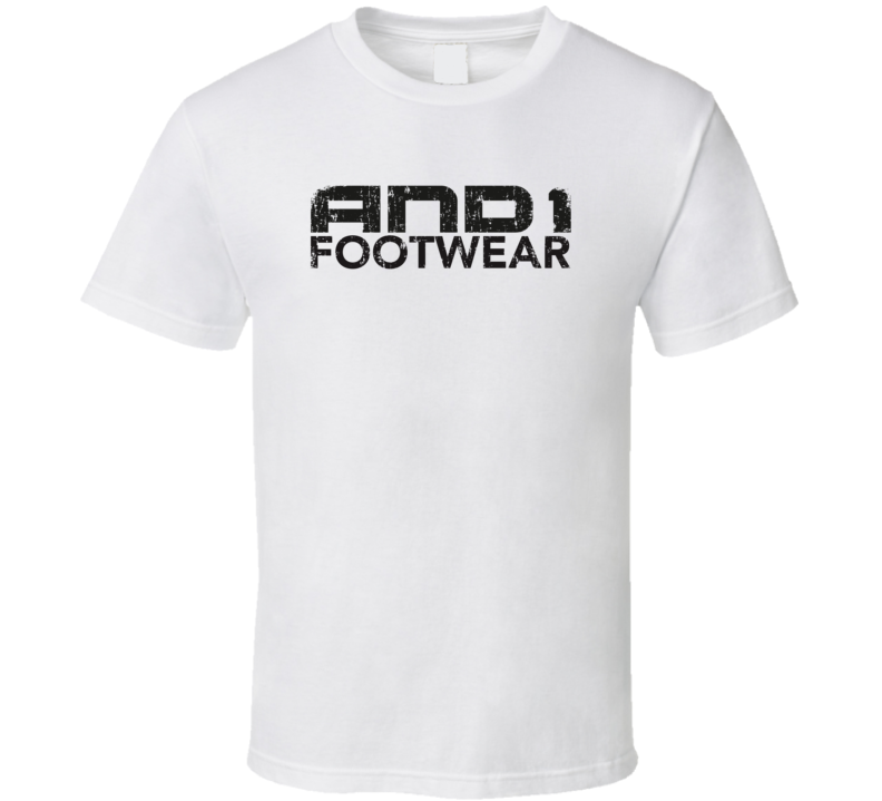 And1 Basketball Sport Athletic Worn Look Cool T Shirt