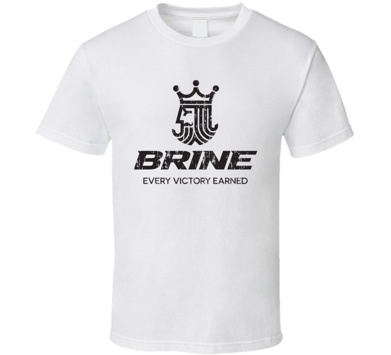 Brine Lacrosse Sport Athletic Worn Look Soccer Cool T Shirt