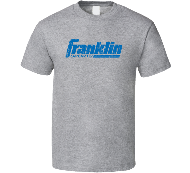 Franklin Basketball Sport Athletic Worn Look Cool T Shirt