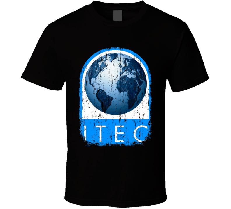 Itech Hockey Sport Athletic Worn Look Cool T Shirt