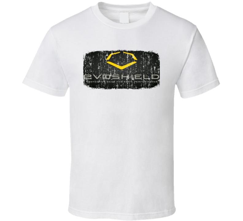 Evoshield Football Sport Athletic Worn Look Cool T Shirt
