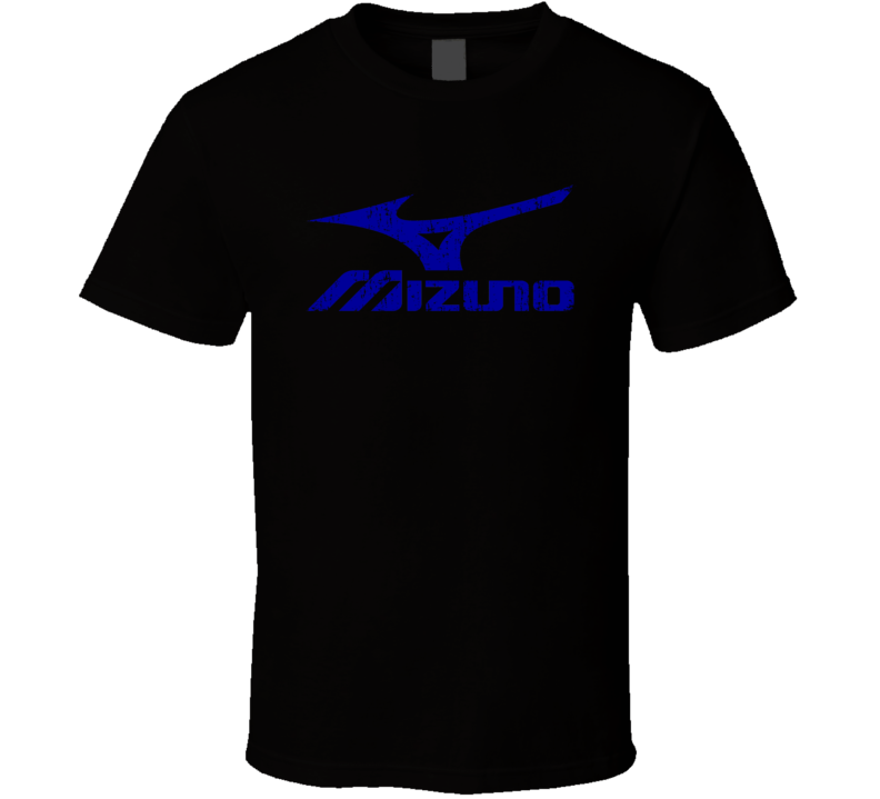 Mizuno Baseball Sport Athletic Worn Look Cool T Shirt