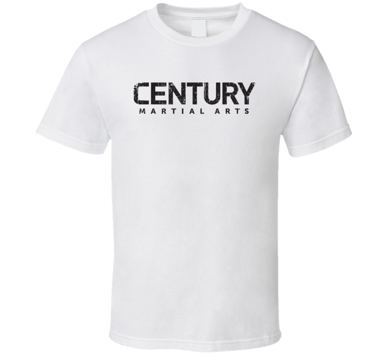 Century Martial Arts Sport Athletic Worn Look Boxing Cool T Shirt