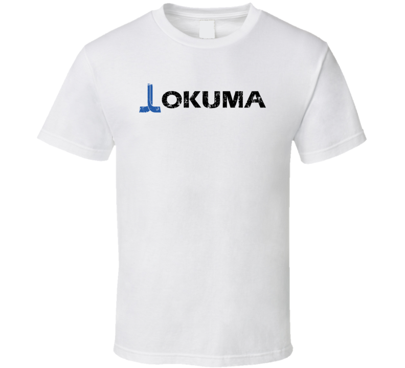 Okuma Fishing Sport Athletic Worn Look Cool T Shirt