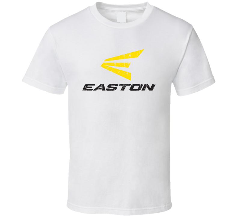 Easton Baseball Sport Athletic Worn Look Cool T Shirt