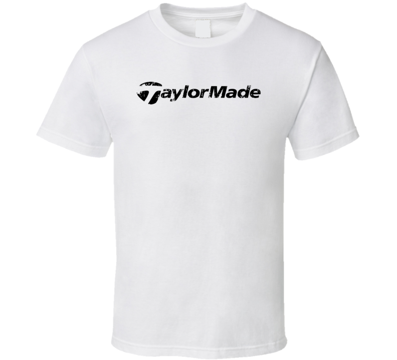 Taylormade Golf Sport Athletic Worn Look Golfer Cool T Shirt