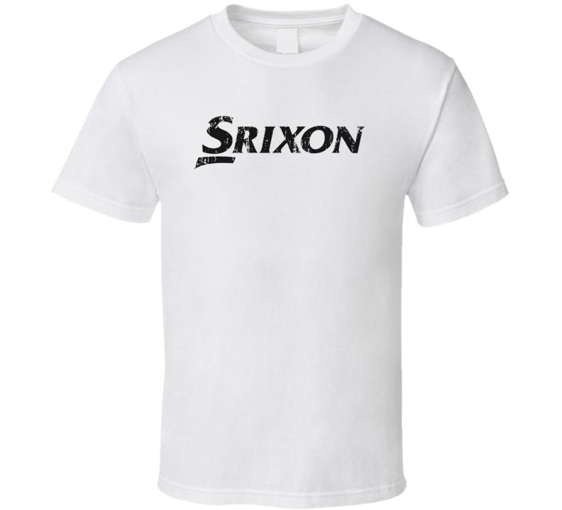 Srixon Golf Sport Athletic Worn Look Golfer Cool T Shirt