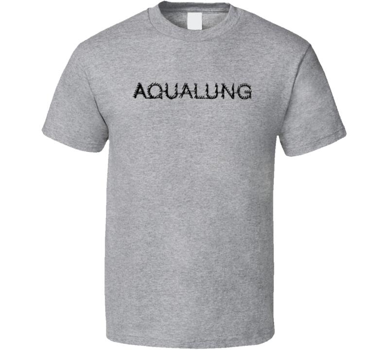 Aqua Lung Scuba Diving Sport Athletic Worn Look Snorkling Cool T Shirt