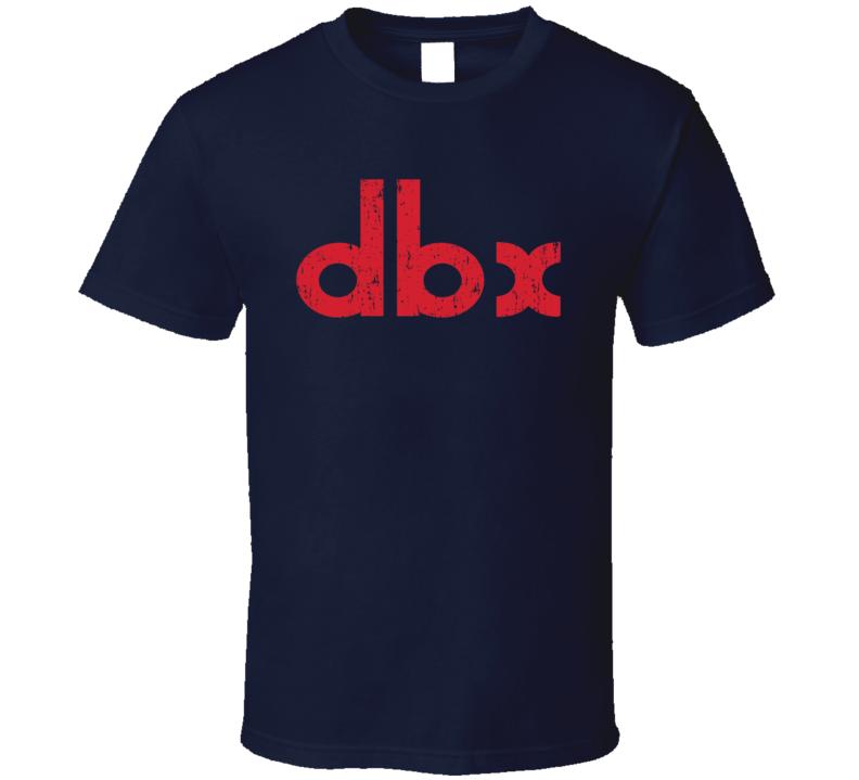 DBX Swimming Sport Athletic Worn Look Cool T Shirt