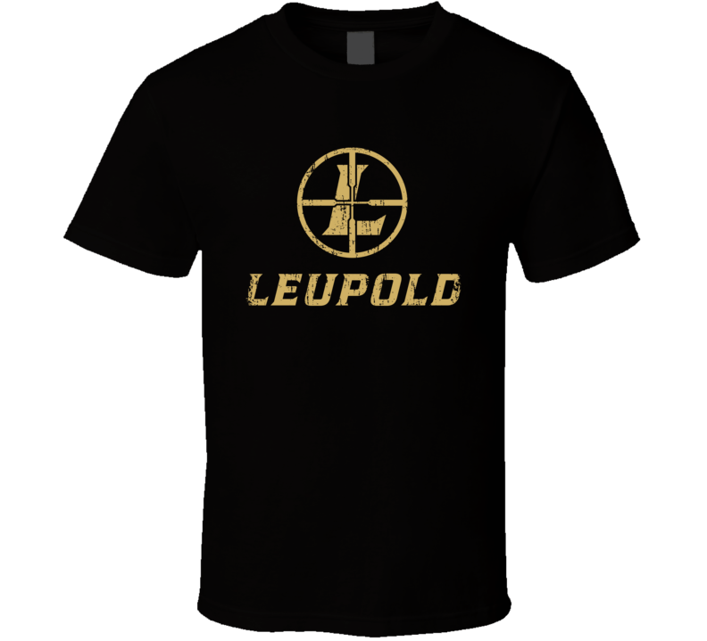 Leupold Golf Sport Athletic Worn Look Golfer Cool T Shirt