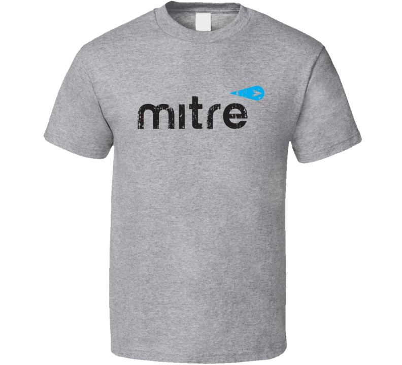 Mitre Soccer Sport Athletic Worn Look Cool T Shirt