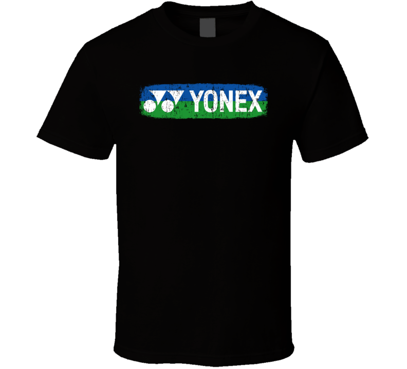 Yonex Badminton Sport Athletic Worn Look Tennis Cool T Shirt
