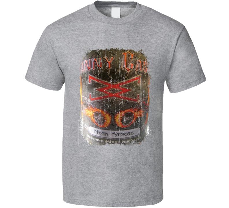 Danny Cash  Kansas Hot Sauce Lover Worn Look Fun Cool T Shirt