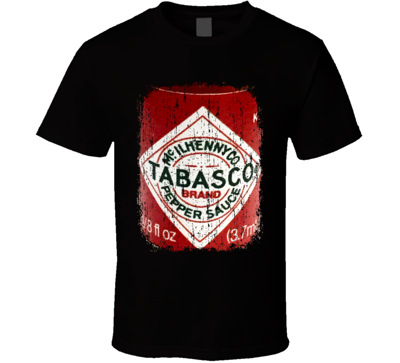 Tabasco Original Minnesota Hot Sauce Lover Worn Look Cool T Shirt