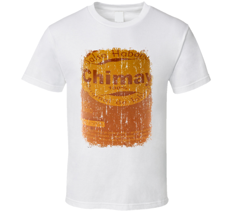 Chimay Salsa Habnera USA Hot Sauce Lover Worn Look Cool T Shirt
