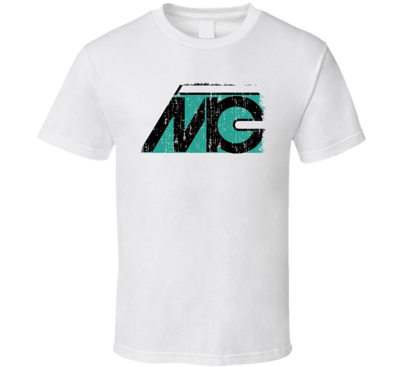 Microtech Gefell Microphone Musician DJ Cool Worn Look T Shirt