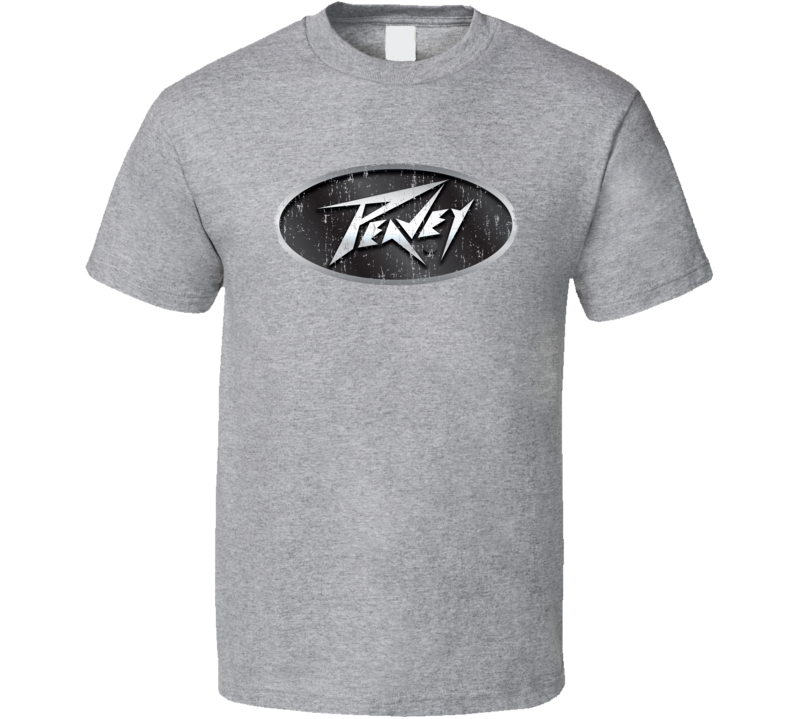 Peavey Electronics Microphone Musician DJ Cool Worn Look T Shirt
