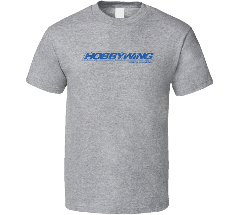 Hobbywing RC Aircraft Cool Geek Worn Look T Shirt