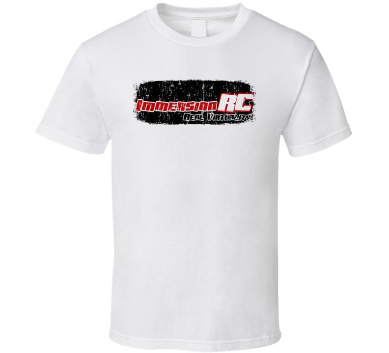 Immersionrc RC Aircraft Cool Geek Worn Look T Shirt
