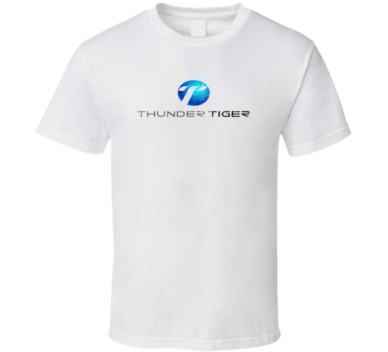 Thunder Tiger RC Aircraft Cool Geek Worn Look T Shirt
