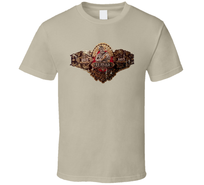Gurkha Cellar The Dominican Cigar Fathers Day Worn Look Cool T Shirt