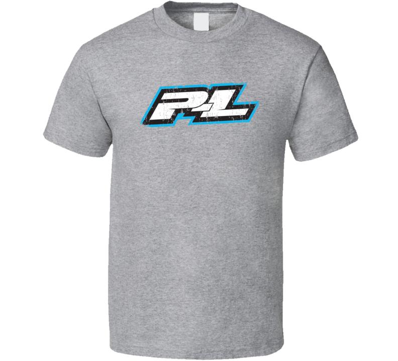 Pro-Line RC Aircraft Cool Geek Worn Look T Shirt