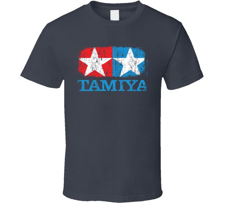 Tamiya RC Aircraft Cool Geek Worn Look T Shirt