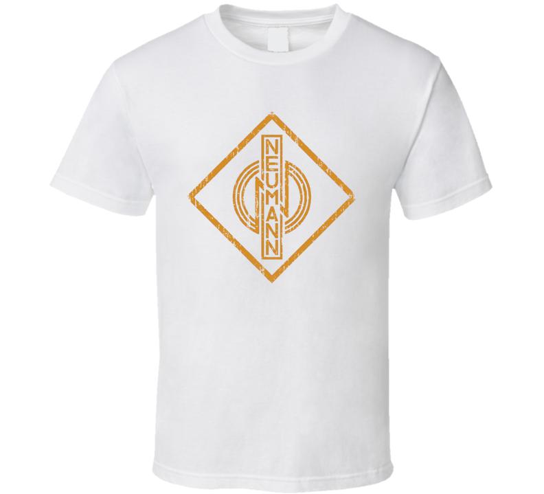 Georg Neumann GmbH Microphone Musician DJ Cool Worn Look T Shirt