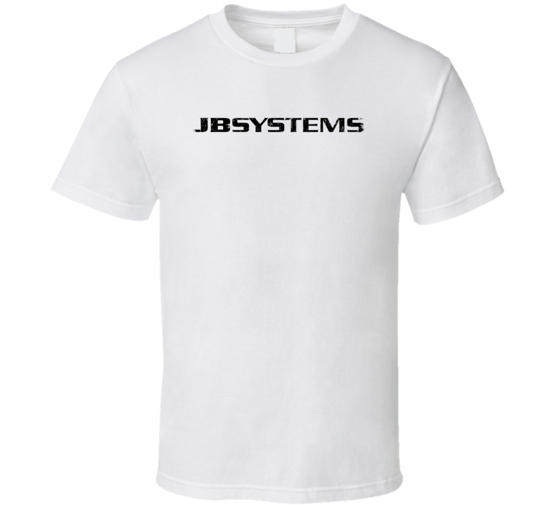JB Systems Microphone Musician DJ Cool Worn Look T Shirt