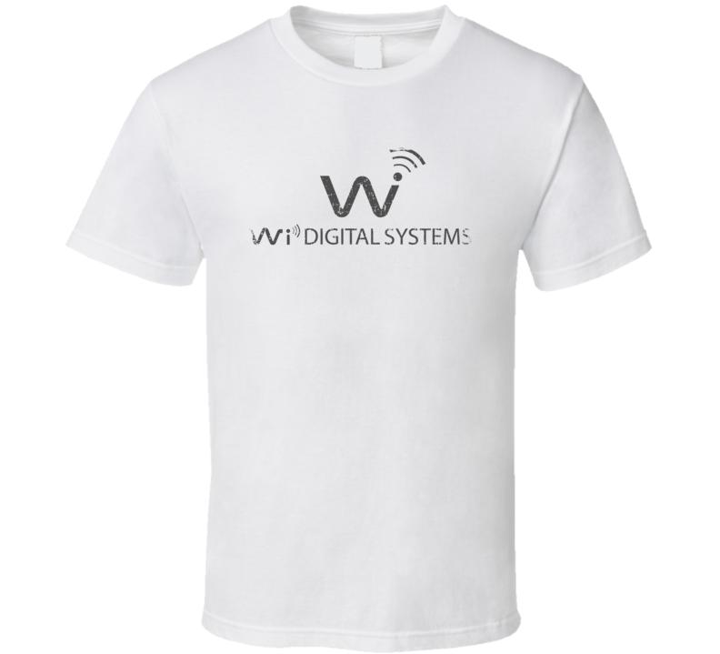 Wi Digital Systems Microphone Musician DJ Cool Worn Look T Shirt