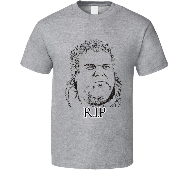 R.I.P. Hodor Game of Thrones Character Memorial Worn Look T Shirt