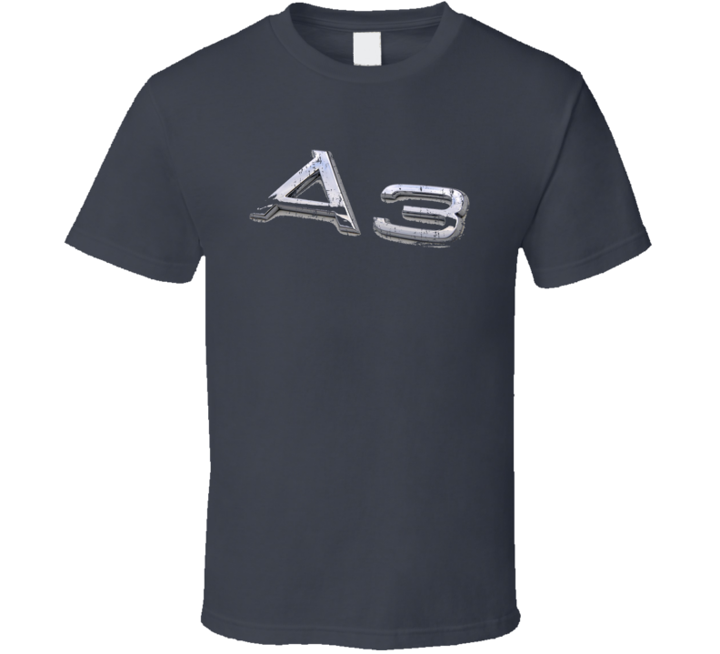 2016 Audi A3 Electric Car Sustainable Green Worn Look T Shirt