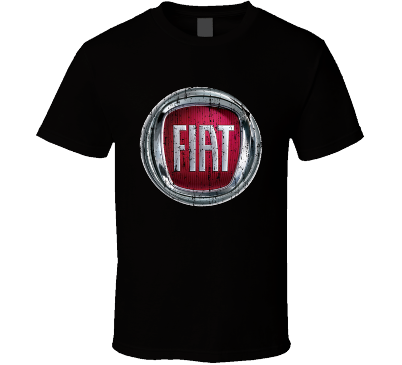 Fiat 500e Electric Car Cool Sustainable Green Worn Look T Shirt