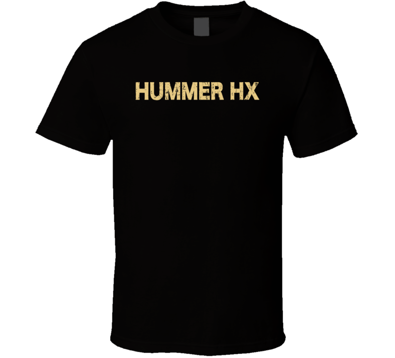 Hummer HX Electric Car Cool Sustainable Green Worn Look T Shirt