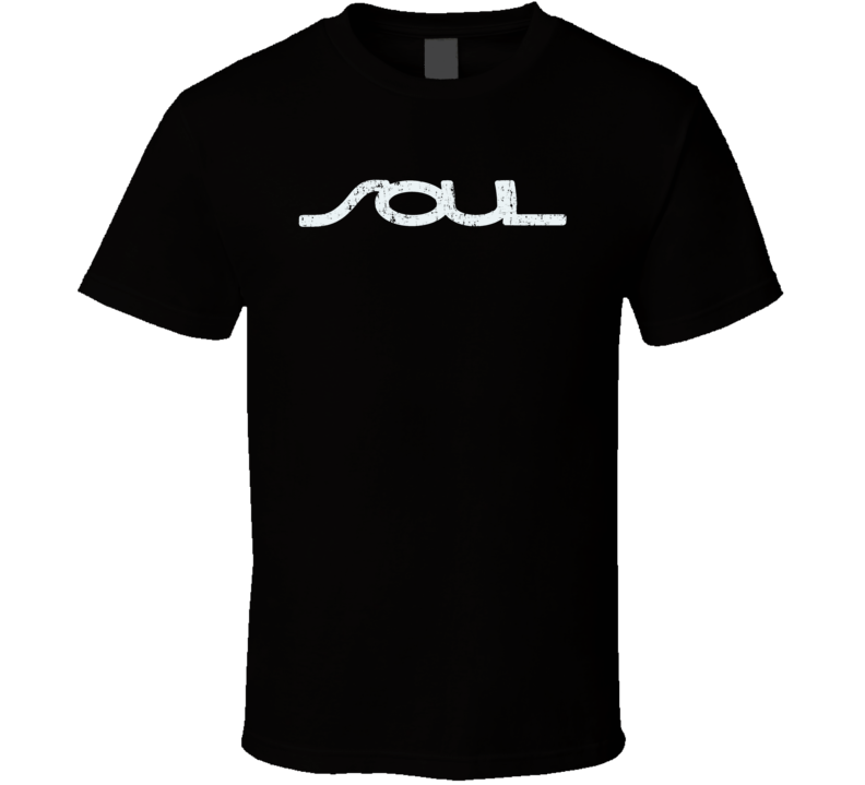 Kia Soul Electric Car Cool Sustainable Green Worn Look T Shirt