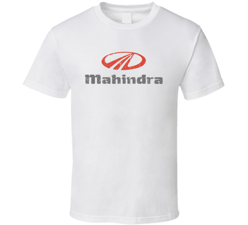 Mahindra e2o Electric Car Cool Sustainable Green Worn Look T Shirt
