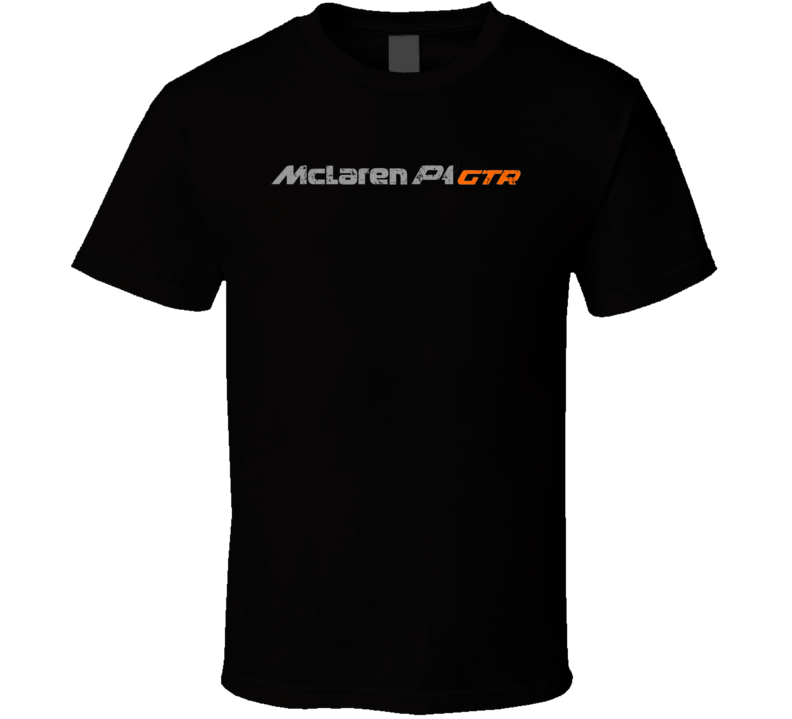 McLaren P1 Electric Car Cool Sustainable Green Worn Look T Shirt