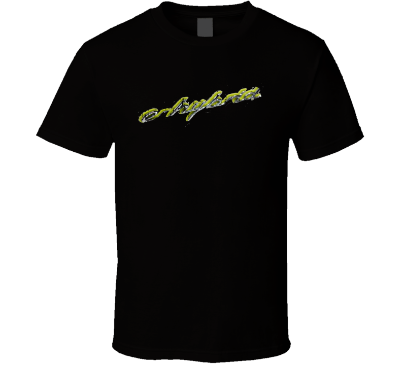 Porsche Cayenne Electric Car Sustainable Green Worn Look T Shirt