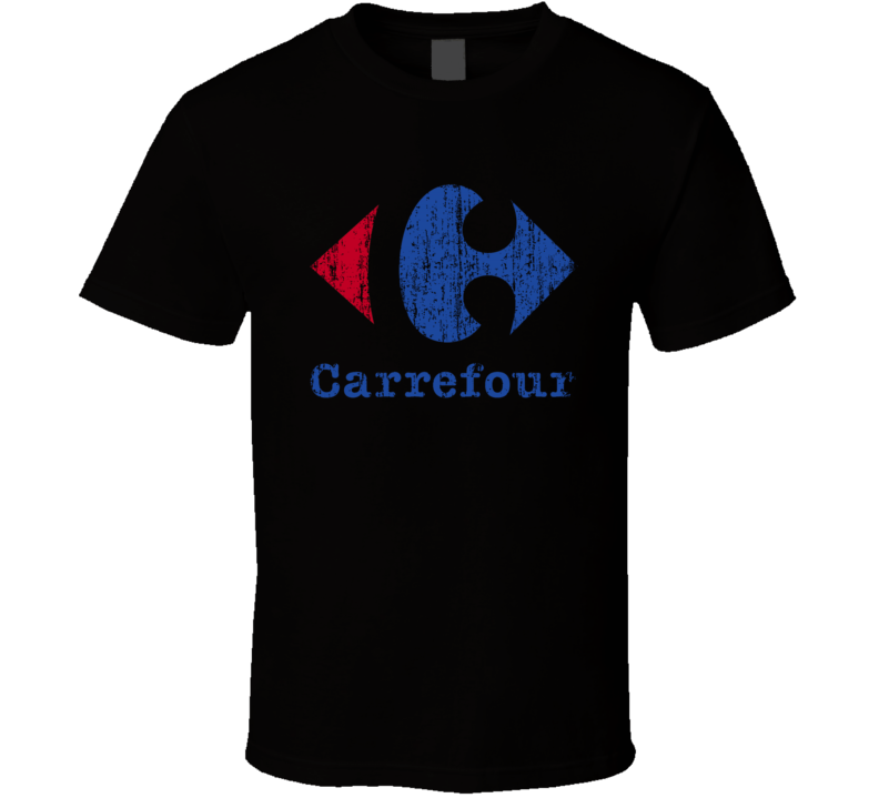 Carrefour Auto Fluids Gas Motor Oil Fuels Cool Worn Look T Shirt